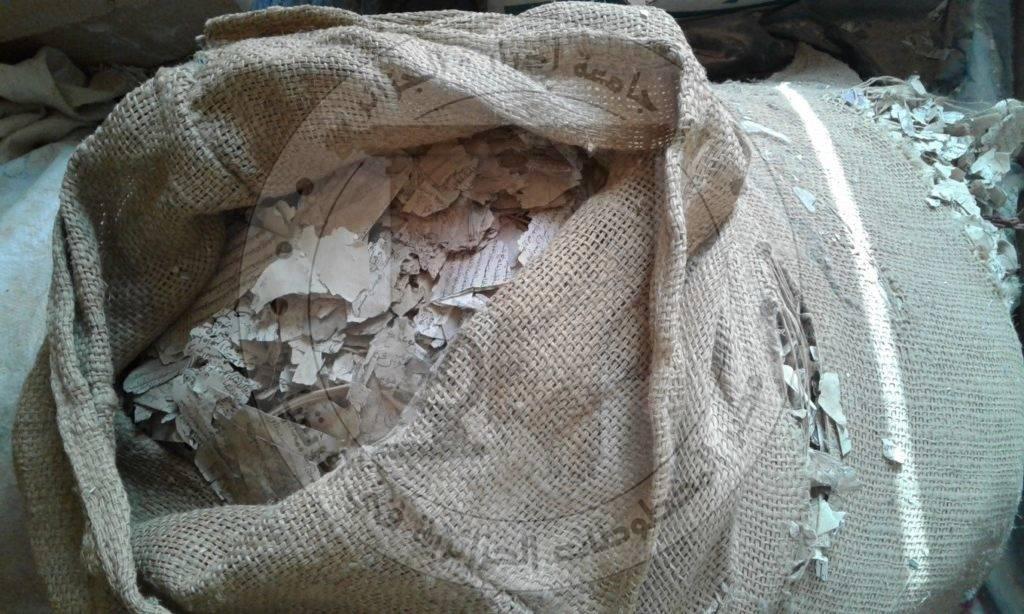 وسائل الحفظ البدائية للمخطوطات داخل بعض الخزائن بولاية أدرار  الجزائر